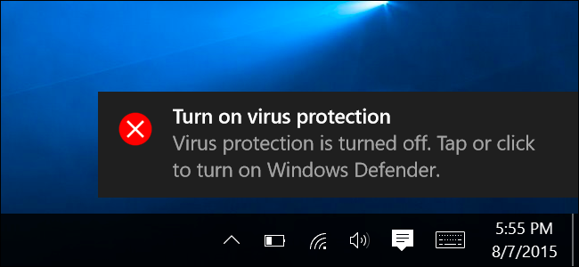 how to turn off window defender windows 10