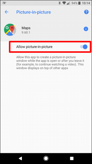 How to Use (or Disable) Picture-in-Picture Mode in Android Oreo
