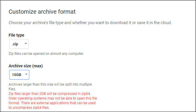 How to Download a Backup Archive of All Your Gmail, Calendar