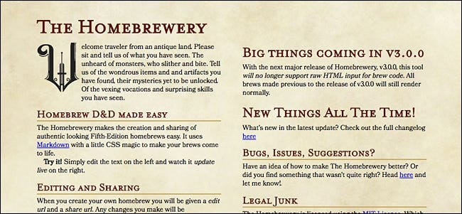 The best digital tools for dungeons and dragons speaking of homebrewed content if youre writing your own campaign and want to give it a more professional look especially if you plan on publishing it fandeluxe Images
