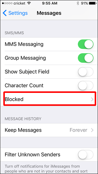 How to Block Text Messages from a Certain Number on an iPhone