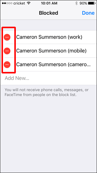 how to block a number on a iphone how to block text messages from a certain number on an iphone 20744