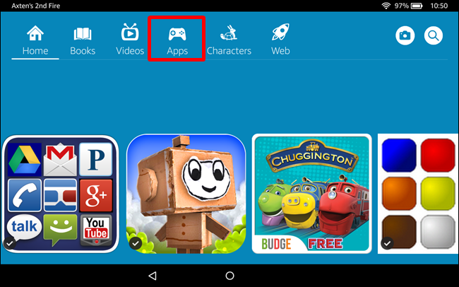 How to Get Sideloaded Apps to Show Up in FreeTime Profiles