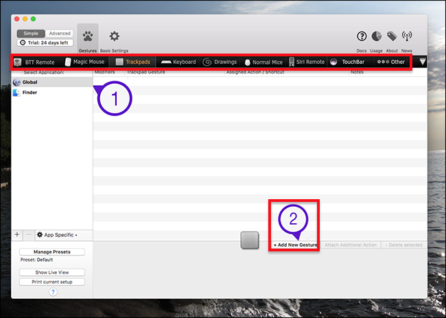 How to Create Custom Trackpad Gestures on Your Mac With
