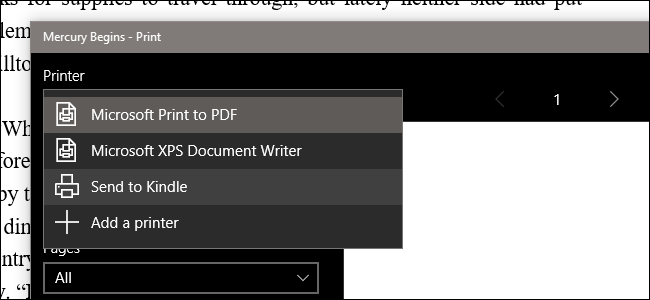adding pdf to kindle