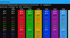 How to Customize Your Command Prompt's Color Scheme With Microsoft's ColorTool
