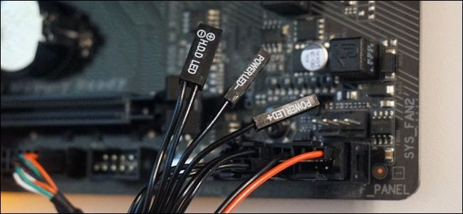 How to Manually Disable the Power and Drive LEDs on Your