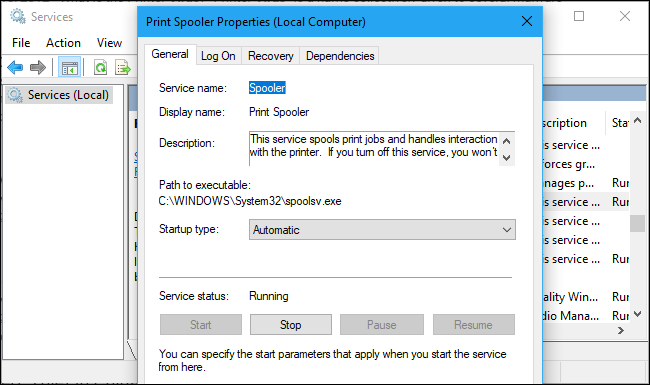 spoolsv exe and spoolss dll for windows 7