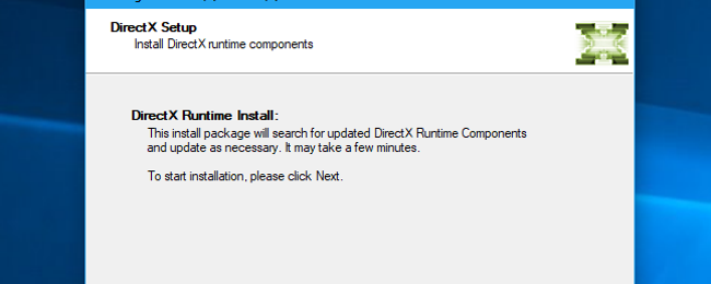Why Does Every PC Game Install Its Own Copy of DirectX?