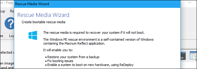 How to Create a Full-Disk Backup of Your PC with Macrium Reflect