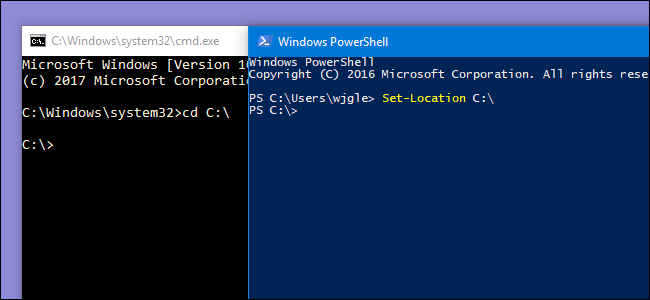 How PowerShell Differs From the Windows Command Prompt