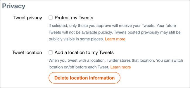 how to delete your tweets