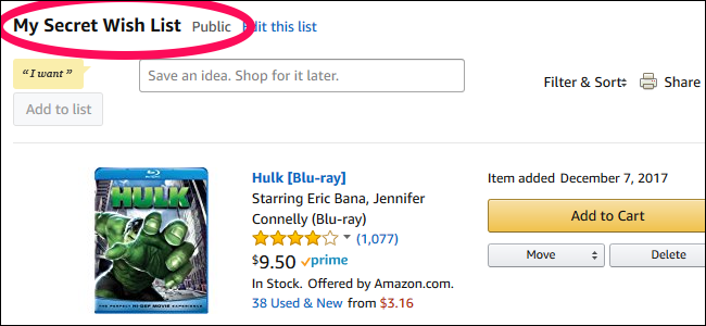 78b679f510be0 Your Amazon Wish List Is Public By Default. Here's How to Make It Private