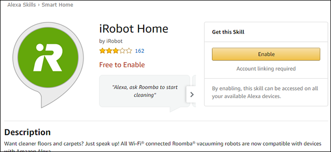 How to Control Your Wi-Fi Connected Roomba With Alexa or