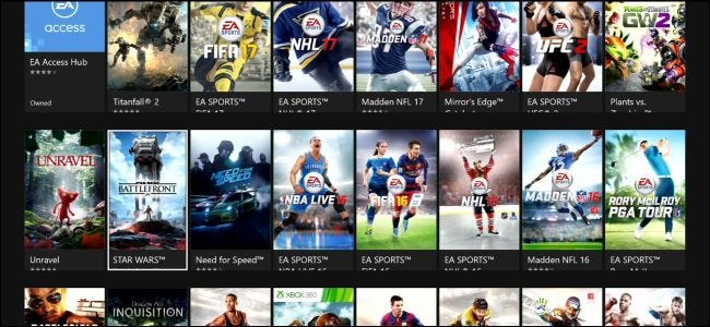 what is ea access for xbox one and is it worth it. Black Bedroom Furniture Sets. Home Design Ideas