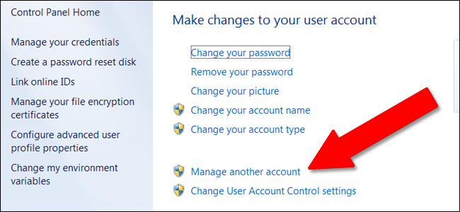 Enabling the Guest Account in Windows