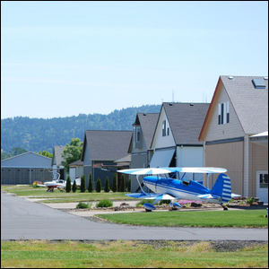 Residential Communities Where People Live With Their Planes And Direct Runway Access Are Called?