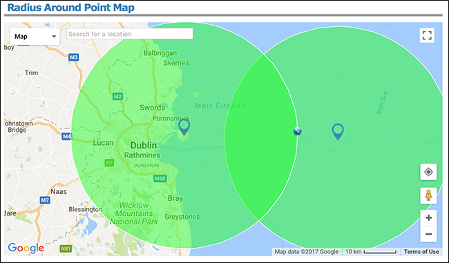 How to Find Out What Places Are a Specific Distance From You  Hour Radius On Map on center on map, area on map, 50 miles on map, city on map, bridge on map, rom on map, microsoft on map, storm on map, state on map, position on map, arc on map, slope on map,