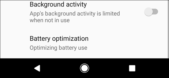 How to Limit Background Activity for Apps in Android Oreo to