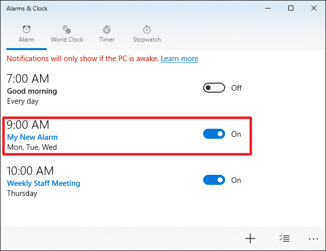 How to Set Timers, Alarms, and Stopwatches in Windows 10