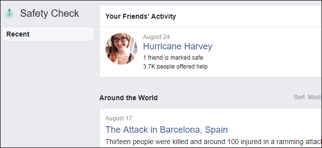 """How to Mark Yourself """"Safe"""" On Facebook During an Emergency"""
