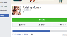 How to Start a Fundraiser After An Emergency Using Facebook