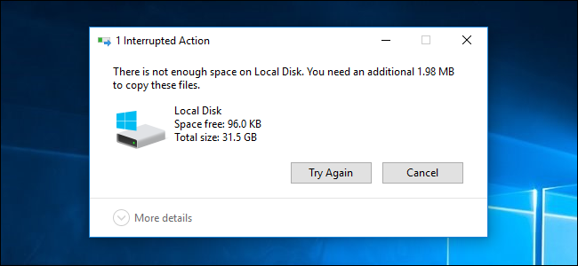 How Much Free Space Should You Leave on Your Windows PC