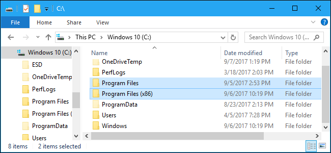 What is Program Files x86?