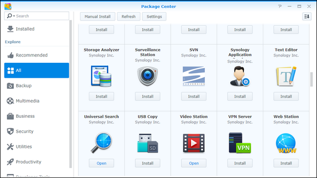 How to Install (and Remove) Application Packages from Your Synology NAS
