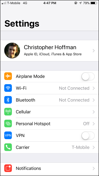 iOS 11's Control Center Doesn't Truly Disable Wi-Fi or Bluetooth