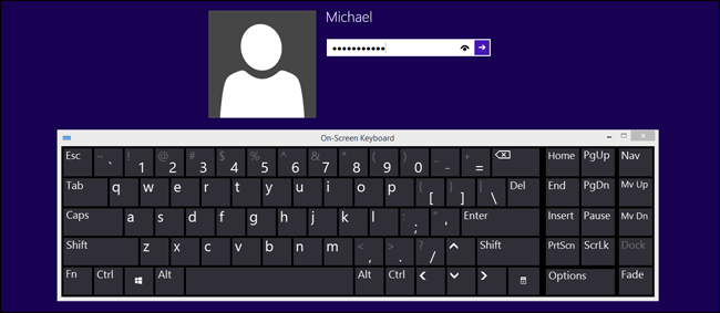 How to Log In to a Windows Desktop Without a Keyboard