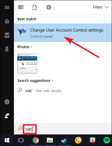 Disable User Account Control (UAC) the Easy Way on Win 7, 8