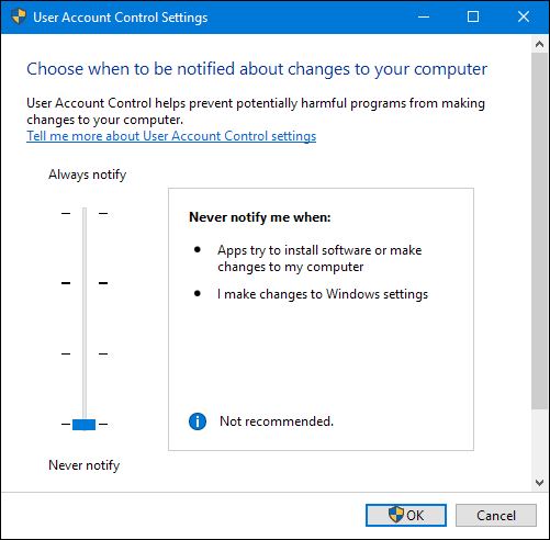 how to change user account settings in windows 7