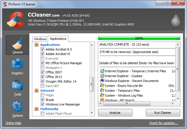 ccleaner full version free download for windows 8