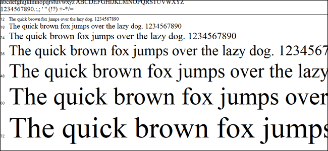 What\u0027s the Difference Between a Font, a Typeface, and a Font Family?