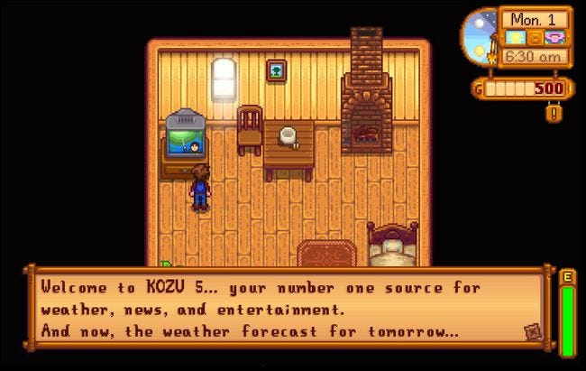 how to tell your luck level in stardew valley