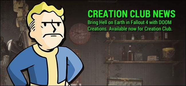 """How to Hide the """"Creation Club News"""" Spam in Fallout 4"""