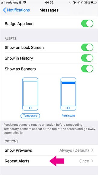 How to Stop Your iPhone From Dinging Twice When You Get Text