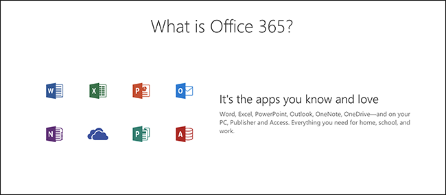 office 365 welcome page