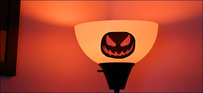 The Best Spooky Philips Hue Tricks for Halloween Spooky Halloween Lighting Effects on led lighting effects, halloween laser lighting effects, haunted house lighting effects, spooky halloween sound effects, outdoor halloween lighting effects,