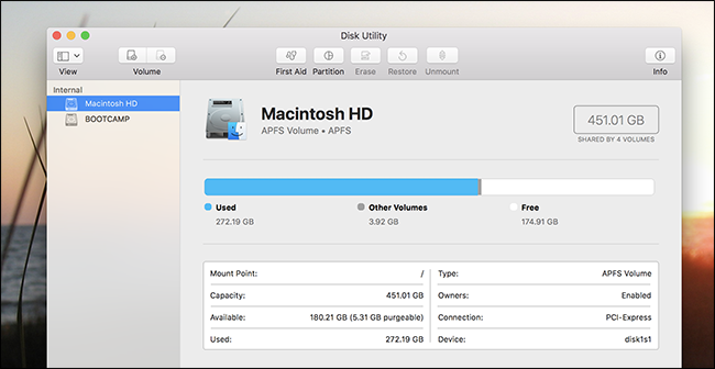 How to Show Empty, Unformatted Drives in Disk Utility on macOS