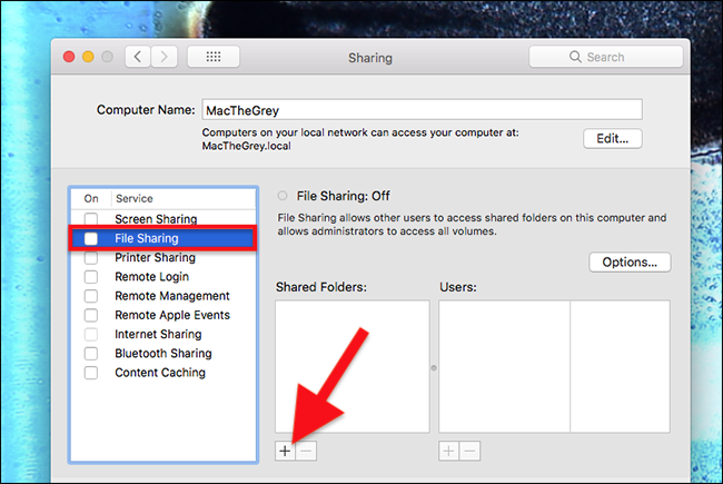 How to Set Up Your Mac to Act as a Networked Time Machine Drive