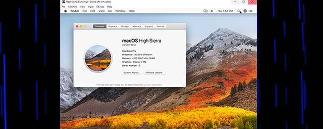 How to Install macOS High Sierra in VirtualBox on Windows 10