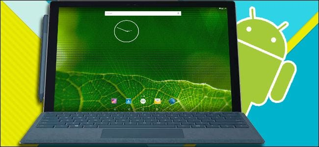 Run Android in Windows with Amiduos