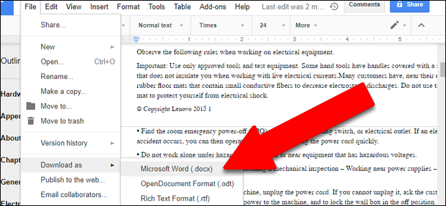 how to turn a pdf into a pages document