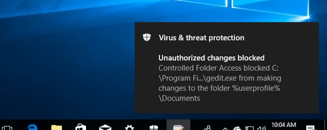"How to Protect Your Files From Ransomware With Windows Defender's New ""Controlled Folder Access"""