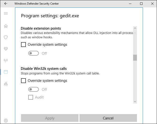 How Windows Defender's New Exploit Protection Works (and How to