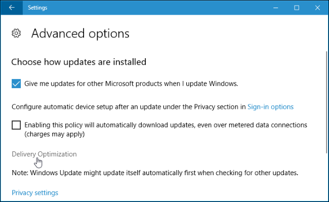 How to Limit Windows Update's Download Bandwidth on Windows 10