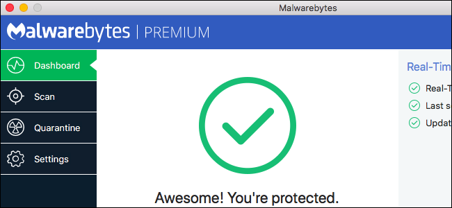 how to scan a flash drive with malwarebytes