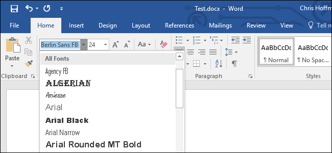 how to embed fonts in a microsoft word document